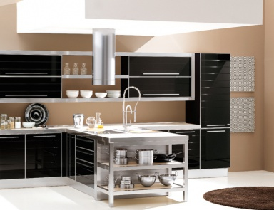 kitchen with island doge zaccariotto cucine