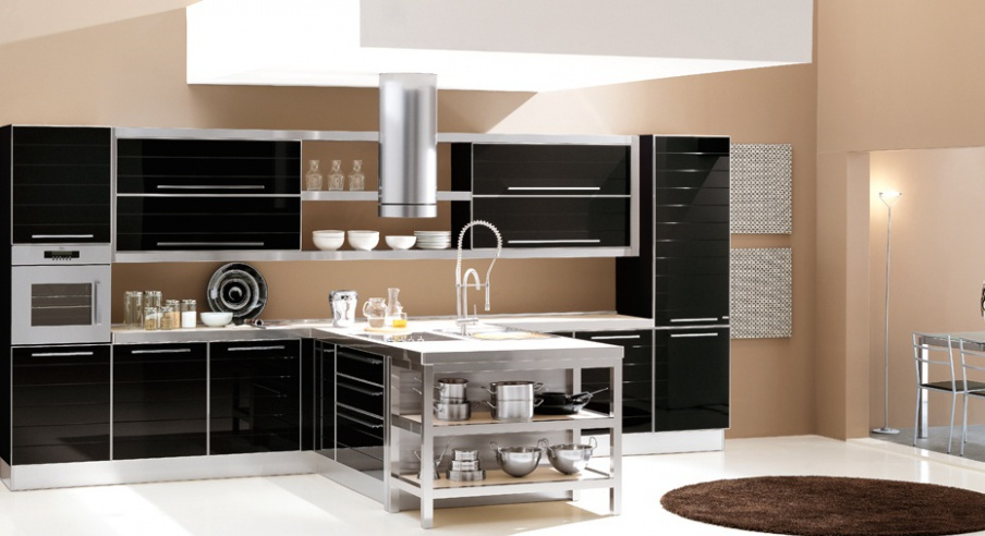 Kitchen with island on a frame of wood doge zaccariotto - Zaccariotto cucine ...