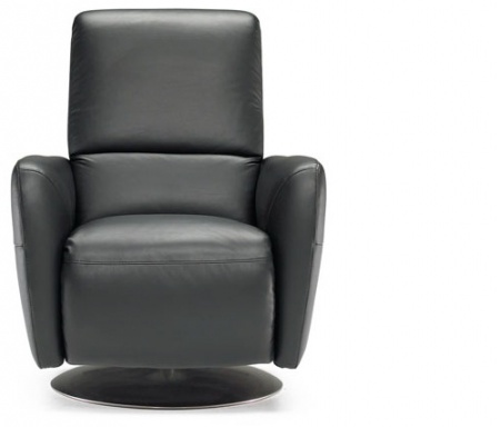 Armchair with high back