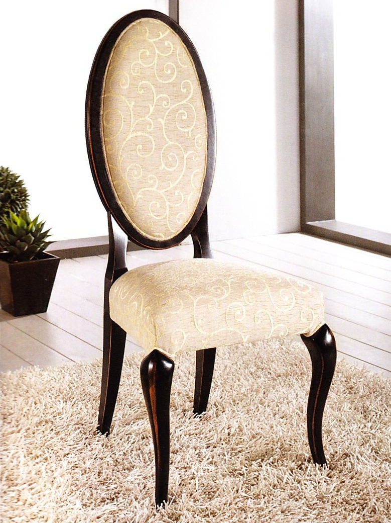 Chair with high back domus mobili luxury furniture mr for Domus mobili