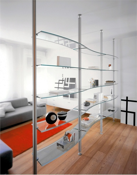The book rack of steel Evolutoin, Cattelan Italia