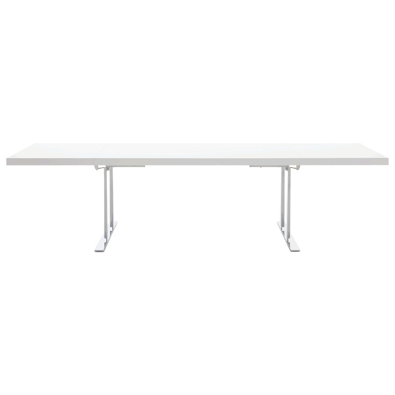 Dining table cineline extend ligne roset luxury for Table yoyo ligne roset