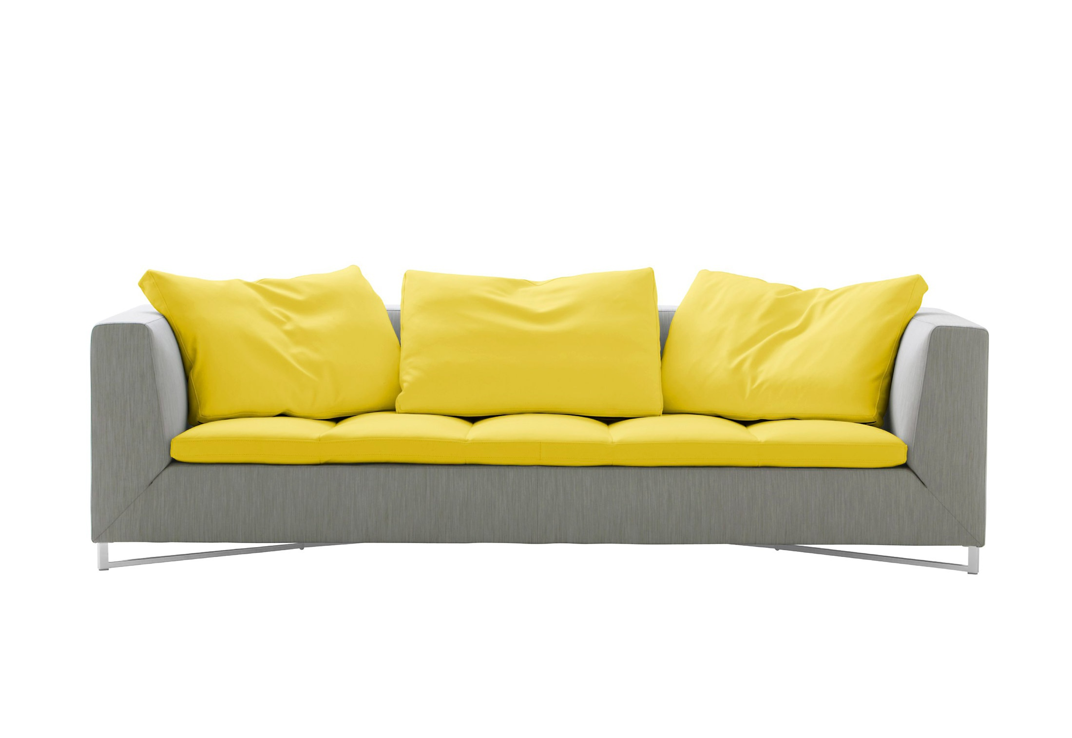 Three seater sofa in fabric FENG, Ligne Roset - Luxury furniture MR