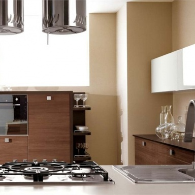 Kitchen (Suite kitchen), Fabiana - Cucine LUBE - Luxury furniture MR
