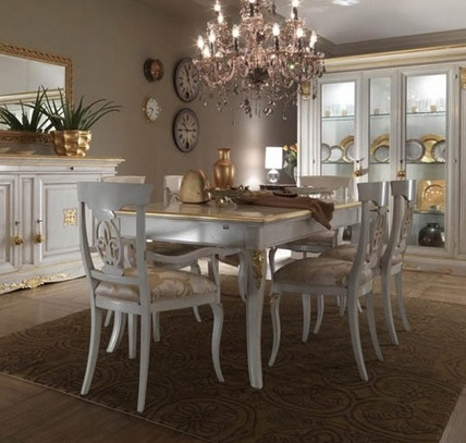 Dining room (dining set), Stella del Mobile