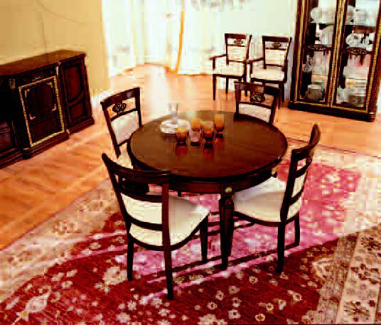 Dining table on high legs, San michele