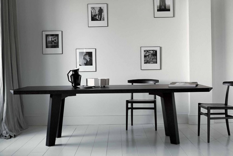 Dining table solid wood Vincent, Casamilano