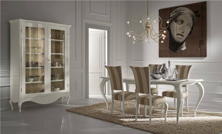Dining set - table, chairs, sideboard, Cantori