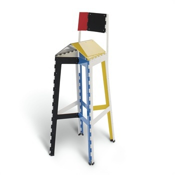 Stitch bar chair Stool, Cappellini