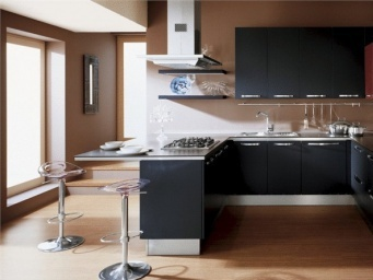 Veneta Cucine Extra Fashion.Kitchen Kitchen Set Made Of Metal With Built In