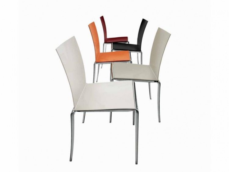 Chair stackable aluminium Jazz, Alivar