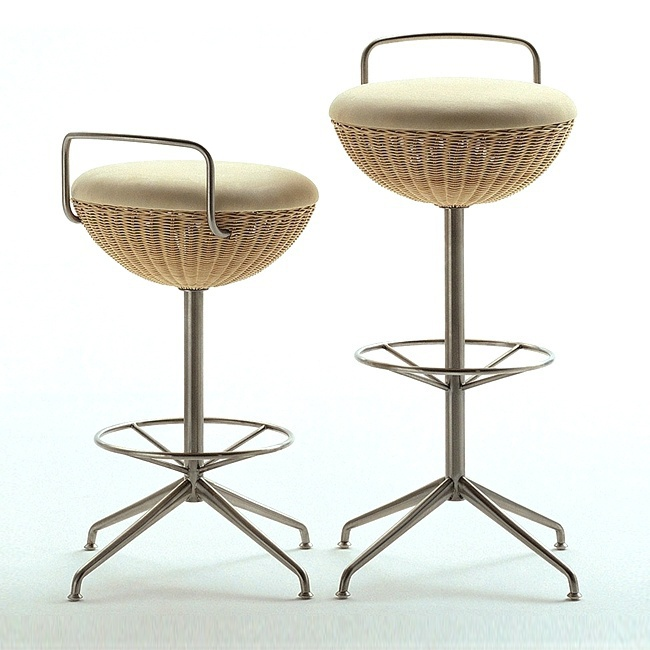 Balloon Table Bar Stool, Bonacina Pierantonio