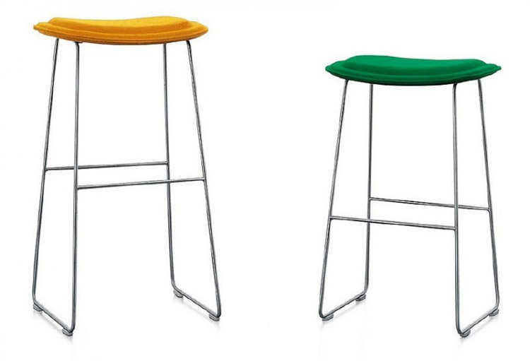 Bar chair Hi Pad Stool, Cappellini