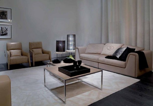 Merveilleux Living Room (sofa Set) Fendi