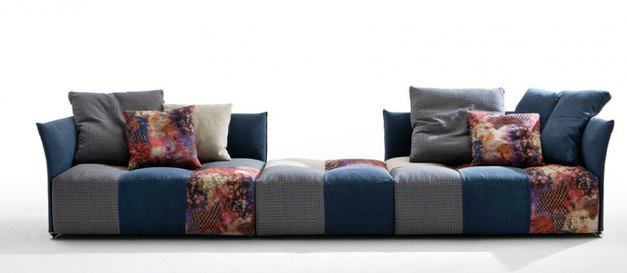 Sofa With Wooden Frame And Fabric Upholstery Pixel Saba