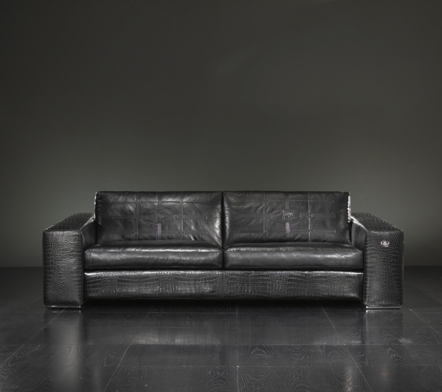 Double Sofa Edoardo Fendi Luxury Furniture Mr