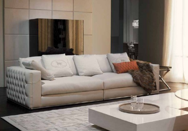 Sofa twin Plaza, Fendi - Luxury furniture MR