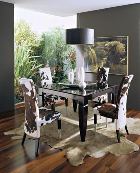 Dining table folding R108, Angela Bizzarri