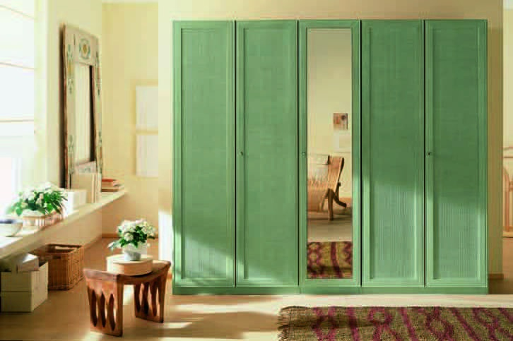 Wardrobe with hinged doors, Roberti Rattan