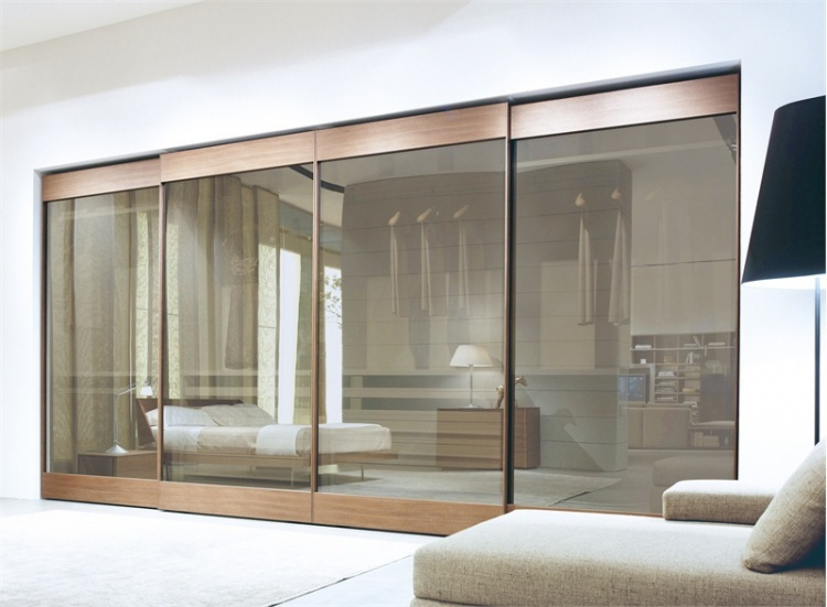 Wardrobe with sliding fronts, Class - Feg
