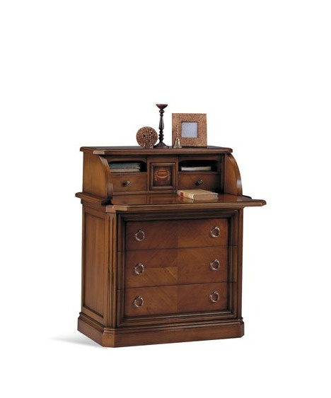 Bureau of louis xvi wood selva luxury furniture mr for Bureau louis xvi