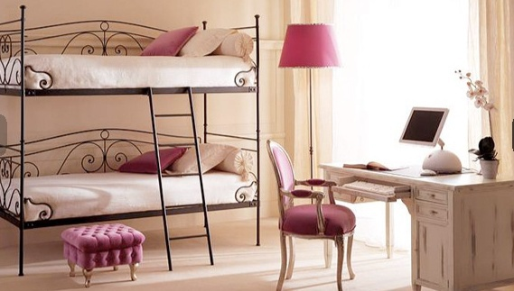Set for bedroom bunk, Bassano Arredamenti