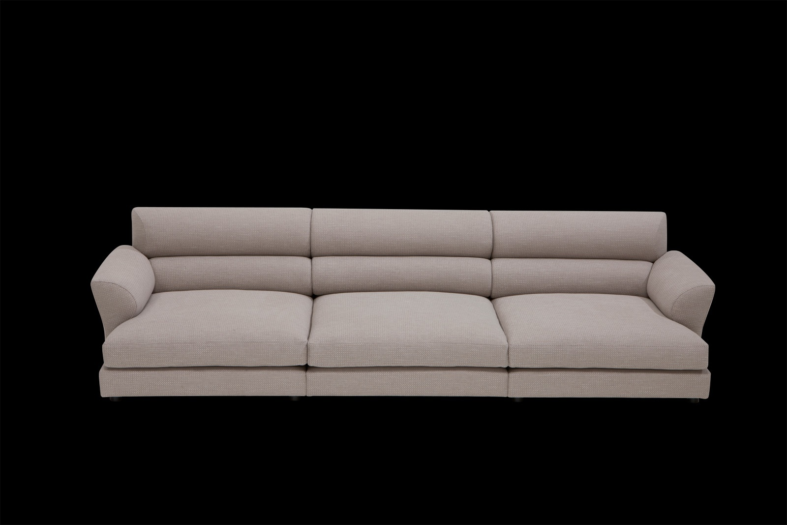 Three Seat Sofa Imperial Lounge Low Lying Il Loft Luxury