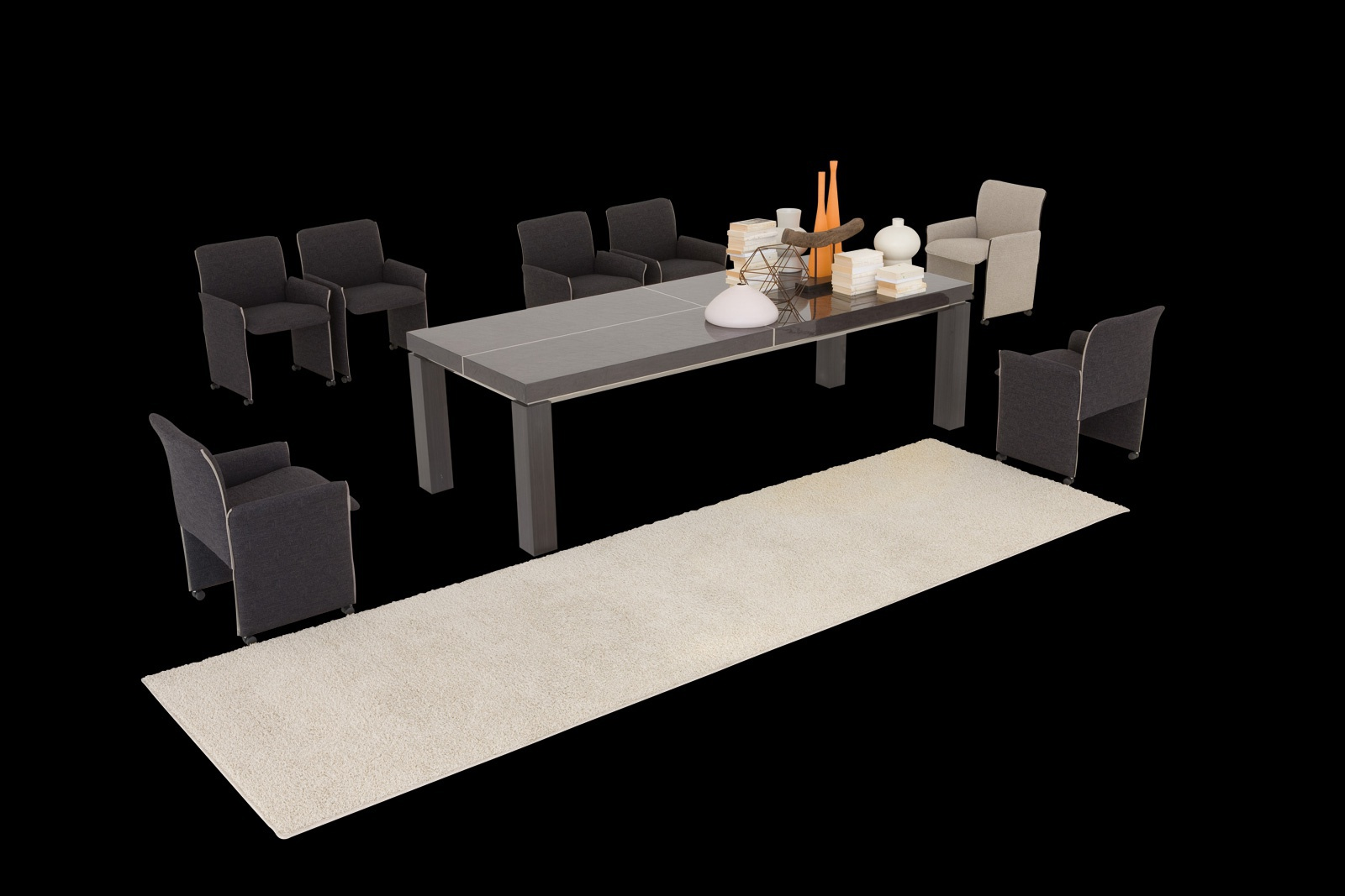 Vancouver dining table from solid wood il loft luxury