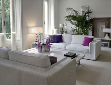 A Sofa With Wide Armrests, Versace Home