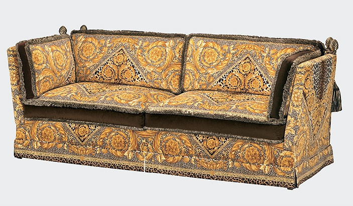 Sofa orleans versace home luxury furniture mr Versace sofa