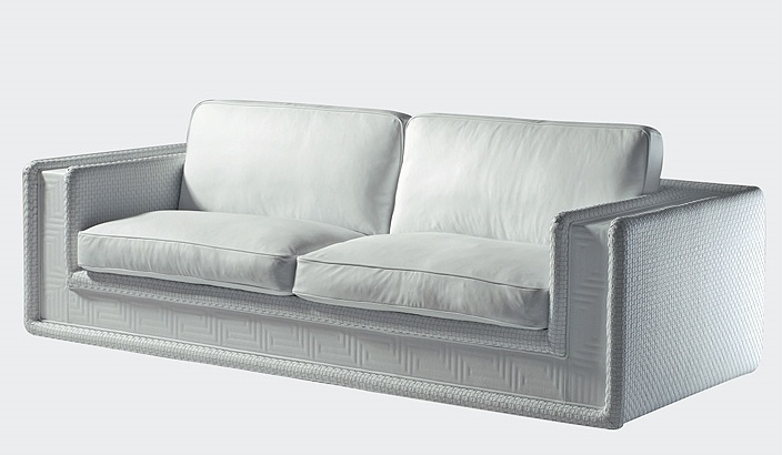 The Soft Couture Sofa In Fabric Upholstery, Versace Home