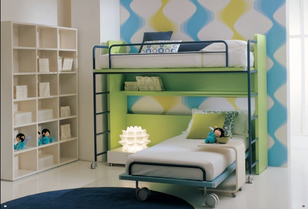 Set for children with a bunk bed, Di Liddo & Perego