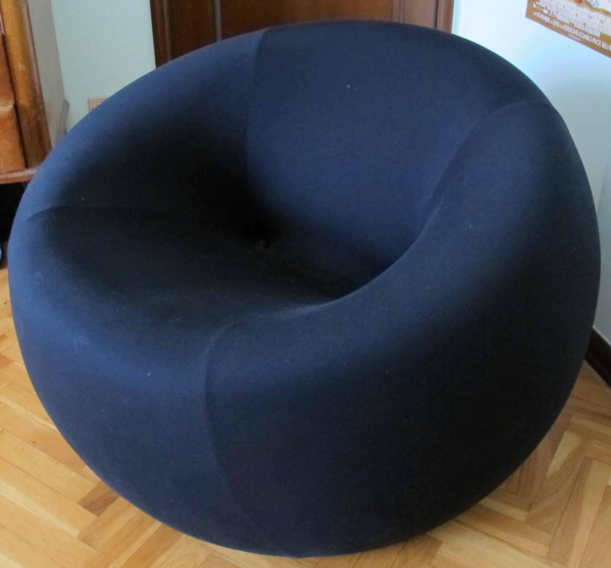 Armchair Made Of Polyurethane Foam Upholstered In Fabric