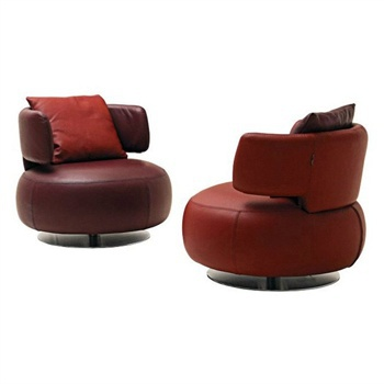 Admirable Chair On Round Base Curl Roche Bobois Cjindustries Chair Design For Home Cjindustriesco