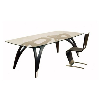 dining table dyna roche bobois