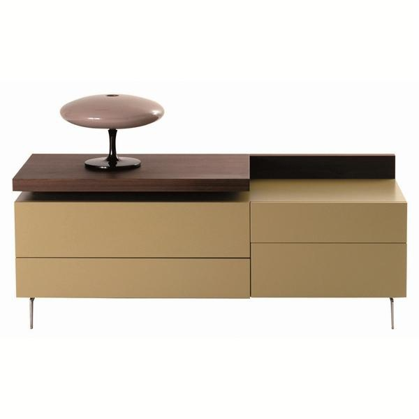 Dresser with metal legs, Echoes Chest of drawers - Roche Bobois ...