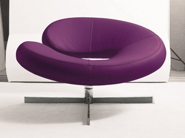 A Chair On Metal Base, Nuage   Roche Bobois