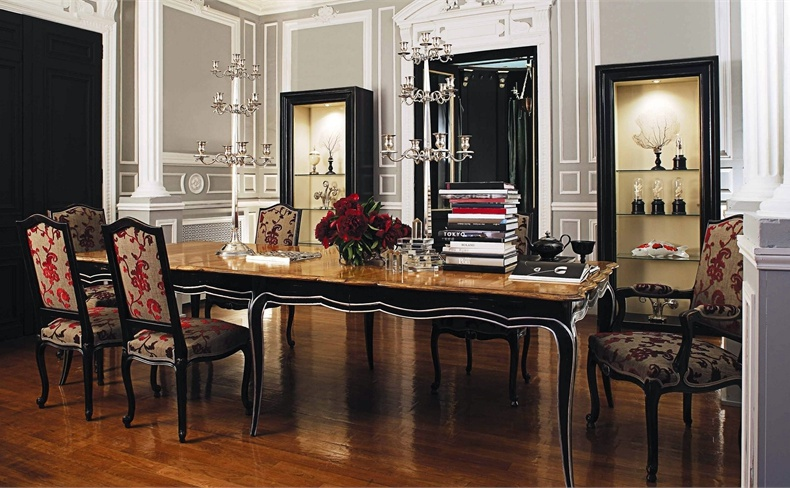 Dining Room Set Volutes Roche Bobois