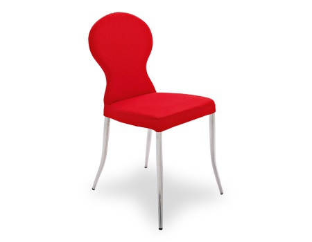 Chair with shaped backrest calligaris luxury furniture mr for Calligaris giuseppe