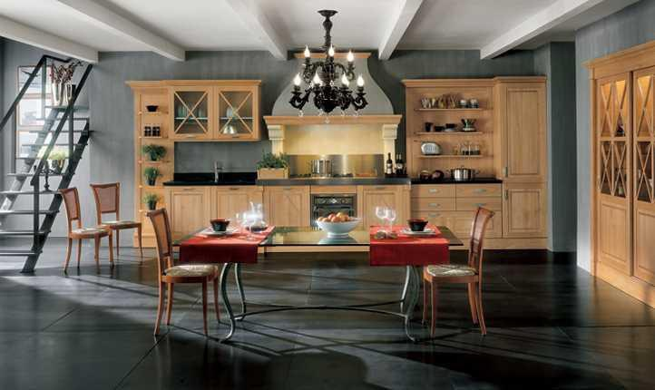 Kitchen (kitchen Set) Bamax, Somelier Natural