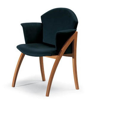 Chair with armrests calligaris luxury furniture mr for Calligaris giuseppe