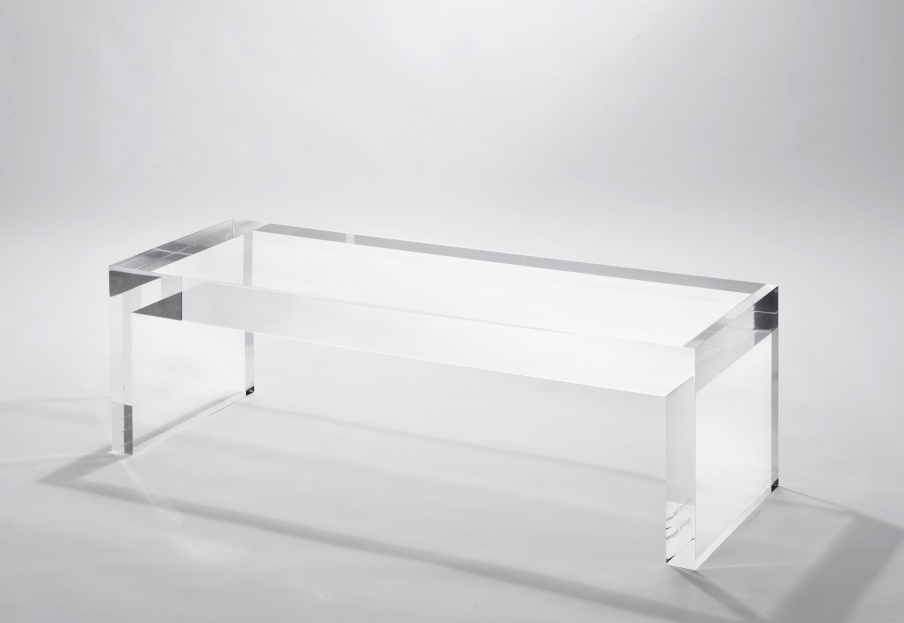 Bench Invisible Side Kartell Luxury Furniture Mr