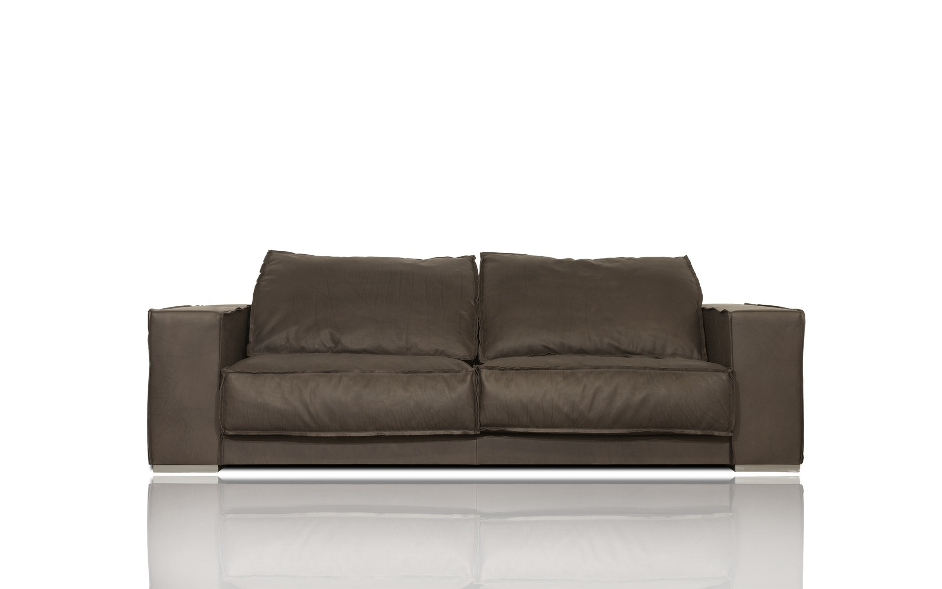 Leather sectional sofa Budapest Soft Baxter Luxury furniture MR