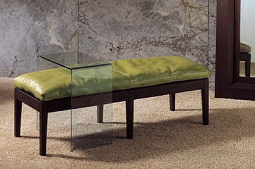 Coffee table made of tempered glass Teo, Longhi