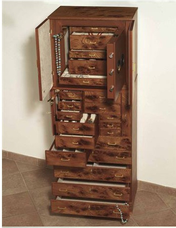 Dresser for jewelry, Agresti Osvaldo
