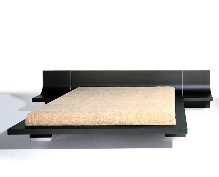 The bed on the podium 0 1 409 412 bernini luxury furniture mr - Characteristics of contemporary platform beds ...