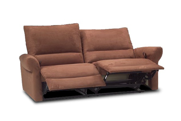Two Seater Sofa With Footrest Calia