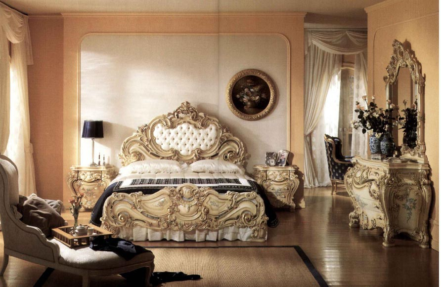 Bedroom Suite Bedroom Carved From Solid Wood Silik Luxury Furniture Mr
