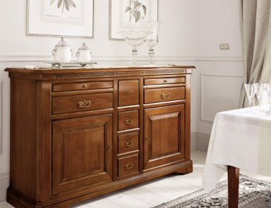 Sideboard credenza hickory white luxury furniture mr for Credenza piombini