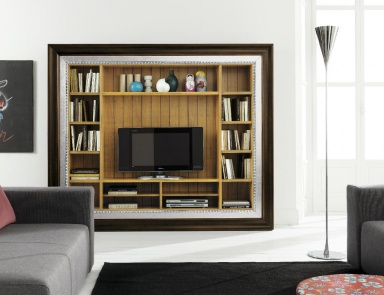 Modular wall system for TV, Flai